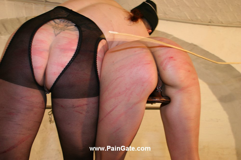 Pussy and ass whipping lezdom by mistress kristin